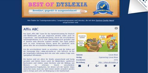 Dyslexia Quality Award