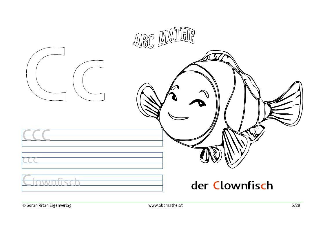 C wie Clownfisch | abcmathe.at