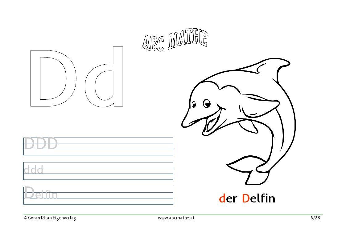Ausmalbilder Buchstaben | abcmathe.at